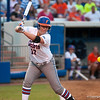 Florida freshman Lauren Haeger  avoiding a pitch during the Gators' 9-1 win against the South Carolina Gamecocks on Friday, March 16, 2012 at the Katie Seashole Pressly Softball Stadium in Gainesville, Fla. / Gator Country photo by Saj Guevara