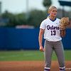 Florida sophomore pitcher Hannah Rogers at the pitchers mound during the Gators' 9-1 win against the South Carolina Gamecocks on Friday, March 16, 2012 at the Katie Seashole Pressly Softball Stadium in Gainesville, Fla. / Gator Country photo by Saj Guevara