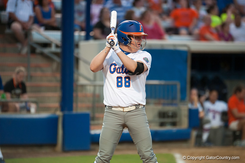 Florida freshman Bailey Castro at bat during the Gators' 9-1 win against the South Carolina Gamecocks on Friday, March 16, 2012 at the Katie Seashole Pressly Softball Stadium in Gainesville, Fla. / Gator Country photo by Saj Guevara