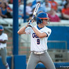 Florida Sophomore Kasey Fagan at bat during the Gators' 9-1 win against the South Carolina Gamecocks on Friday, March 16, 2012 at the Katie Seashole Pressly Softball Stadium in Gainesville, Fla. / Gator Country photo by Saj Guevara