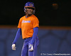 Florida sophomore Michelle Moultrie stands on second base during the Gators' 8-4 exhibition game win against the Santa Fe College Saints on Thursday, November 5, 2009 at Katie Seashole Pressly Softball Stadium in Gainesville, Fla. / Gator Country photo by Tim Casey