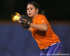 Florida junior second baseman Aja Paculba throws to first base during the Gators' 8-4 exhibition game win against the Santa Fe College Saints on Thursday, November 5, 2009 at Katie Seashole Pressly Softball Stadium in Gainesville, Fla. / Gator Country photo by Tim Casey