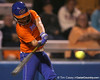 Florida junior second baseman Aja Paculba bats during the Gators' 8-4 exhibition game win against the Santa Fe College Saints on Thursday, November 5, 2009 at Katie Seashole Pressly Softball Stadium in Gainesville, Fla. / Gator Country photo by Tim Casey