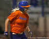 Florida freshman Brittany Schutte runs out a hit during the Gators' 8-4 exhibition game win against the Santa Fe College Saints on Thursday, November 5, 2009 at Katie Seashole Pressly Softball Stadium in Gainesville, Fla. / Gator Country photo by Tim Casey