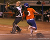 Florida junior second baseman Aja Paculba slides into home during the Gators' 8-4 exhibition game win against the Santa Fe College Saints on Thursday, November 5, 2009 at Katie Seashole Pressly Softball Stadium in Gainesville, Fla. / Gator Country photo by Tim Casey