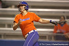 Florida junior catcher Tiffany DeFelice follows through on a swing during the Gators' 8-4 exhibition game win against the Santa Fe College Saints on Thursday, November 5, 2009 at Katie Seashole Pressly Softball Stadium in Gainesville, Fla. / Gator Country photo by Tim Casey