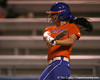 Florida freshman Ensley Gammel bats during the Gators' 8-4 exhibition game win against the Santa Fe College Saints on Thursday, November 5, 2009 at Katie Seashole Pressly Softball Stadium in Gainesville, Fla. / Gator Country photo by Tim Casey