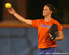 Florida freshman Brittany Walker throws the ball during the Gators' 8-4 exhibition game win against the Santa Fe College Saints on Thursday, November 5, 2009 at Katie Seashole Pressly Softball Stadium in Gainesville, Fla. / Gator Country photo by Tim Casey