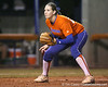 Florida senior third baseman Corrie Brooks gets ready during the Gators' 8-4 exhibition game win against the Santa Fe College Saints on Thursday, November 5, 2009 at Katie Seashole Pressly Softball Stadium in Gainesville, Fla. / Gator Country photo by Tim Casey