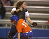 Florida freshman Ensley Gammel slides into home during the Gators' 8-4 exhibition game win against the Santa Fe College Saints on Thursday, November 5, 2009 at Katie Seashole Pressly Softball Stadium in Gainesville, Fla. / Gator Country photo by Tim Casey
