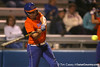 Florida junior catcher Tiffany DeFelice hits a home run during the Gators' 8-4 exhibition game win against the Santa Fe College Saints on Thursday, November 5, 2009 at Katie Seashole Pressly Softball Stadium in Gainesville, Fla. / Gator Country photo by Tim Casey