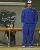 Florida head coach Tim Walton stands near third base during the Gators' 8-4 exhibition game win against the Santa Fe College Saints on Thursday, November 5, 2009 at Katie Seashole Pressly Softball Stadium in Gainesville, Fla. / Gator Country photo by Tim Casey