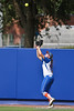 Florida sophomore Brittany Schutte catches a fly ball during the Gator's 9-1 victory against the Oregon Ducks in the first day of the NCAA Super Regionals  on Friday, May 27, 2011 at Katie Seashole Pressly Stadium in Gainesville, Fla. / photo by Rob Foldy