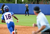 An Oregon outfielder catches the ball to end the inning during the Gator's 9-1 victory against the Oregon Ducks in the first day of the NCAA Super Regionals  on Friday, May 27, 2011 at Katie Seashole Pressly Stadium in Gainesville, Fla. / photo by Rob Foldy