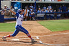 Florida sophomore Brittany Schutte watches her first of two home runs leave the park during the Gator's 9-1 victory against the Oregon Ducks in the first day of the NCAA Super Regionals  on Friday, May 27, 2011 at Katie Seashole Pressly Stadium in Gainesville, Fla. / photo by Rob Foldy