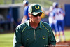 Oregon head coach Mike White during the Gator's 9-1 victory against the Oregon Ducks in the first day of the NCAA Super Regionals  on Friday, May 27, 2011 at Katie Seashole Pressly Stadium in Gainesville, Fla. / photo by Rob Foldy