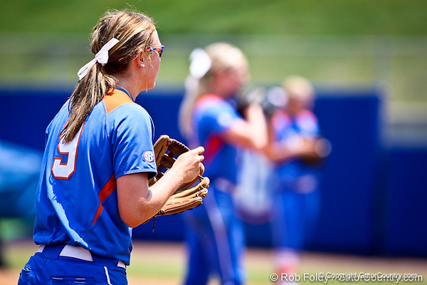 Florida freshman Kasey Fagan during the Gator's 2-3 loss to the UCLA Bruins on Sunday, May 22, 2011 at Katie Seashole Pressly Stadium in Gainesville, Fla. / photo by Rob Foldy
