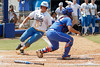 UCLA's GiOnna DiSalvatore scores the tying run during the Gators' 3-2 loss to the UCLA Bruins in the NCAA Regionals on Sunday, May 22, 2011 at Katie Seashole Pressly Softball Stadium in Gainesville, Fla. / Gator Country photo by Tim Casey