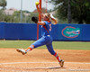 Florida senior pitcher Stephanie Brombacher winds up during the Gators' 3-2 loss to the UCLA Bruins in the NCAA Regionals on Sunday, May 22, 2011 at Katie Seashole Pressly Softball Stadium in Gainesville, Fla. / Gator Country photo by Tim Casey