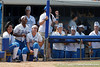 UCLA players cheer during the Gators' 3-2 loss to the Bruins in the NCAA Regionals on Sunday, May 22, 2011 at Katie Seashole Pressly Softball Stadium in Gainesville, Fla. / Gator Country photo by Tim Casey