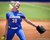 Florida senior pitcher Stephanie Brombacher winds up during the Gator's 2-3 loss to the UCLA Bruins on Sunday, May 22, 2011 at Katie Seashole Pressly Stadium in Gainesville, Fla. / photo by Rob Foldy