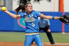 UCLA's Donna Kerr winds up during the Gators' 11-3 win against the UCLA Bruins in the NCAA Regional final on Sunday, May 22, 2011 at Katie Seashole Pressly Softball Stadium in Gainesville, Fla. / Gator Country photo by Tim Casey