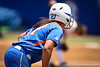 Florida freshman shortstop Cheyenne Coyle leads off of third base during the Gator's 2-3 loss to the UCLA Bruins on Sunday, May 22, 2011 at Katie Seashole Pressly Stadium in Gainesville, Fla. / photo by Rob Foldy]
