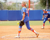 Florida freshman pitcher Hannah Rogers throws a pitch during the Gators' 3-2 loss to the UCLA Bruins in the NCAA Regionals on Sunday, May 22, 2011 at Katie Seashole Pressly Softball Stadium in Gainesville, Fla. / Gator Country photo by Tim Casey