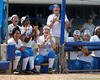 UCLA players cheer during the Gators' 3-2 loss to the UCLA Bruins in the NCAA Regionals on Sunday, May 22, 2011 at Katie Seashole Pressly Softball Stadium in Gainesville, Fla. / Gator Country photo by Tim Casey