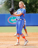 Florida freshman pitcher Hannah Rogers starts to wind up during the Gators' 3-2 loss to the UCLA Bruins in the NCAA Regionals on Sunday, May 22, 2011 at Katie Seashole Pressly Softball Stadium in Gainesville, Fla. / Gator Country photo by Tim Casey
