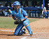 UCLA catcher Grace Murray a runner score during the Gators' 11-3 win against the UCLA Bruins in the NCAA Regional final on Sunday, May 22, 2011 at Katie Seashole Pressly Softball Stadium in Gainesville, Fla. / Gator Country photo by Tim Casey