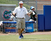 Florida head coach Tim Walton pumps up the crowd as Tiffany DeFelice bats during the Gators' 3-2 loss to the UCLA Bruins in the NCAA Regionals on Sunday, May 22, 2011 at Katie Seashole Pressly Softball Stadium in Gainesville, Fla. / Gator Country photo by Tim Casey