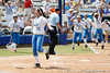 UCLA's Andrea Harrison reacts after scoring the winning run during the Gators' 3-2 loss to the Bruins in the NCAA Regionals on Sunday, May 22, 2011 at Katie Seashole Pressly Softball Stadium in Gainesville, Fla. / Gator Country photo by Tim Casey