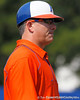 Florida head coach Tim Walton looks on during the Gators' 11-3 win against the UCLA Bruins in the NCAA Regional final on Sunday, May 22, 2011 at Katie Seashole Pressly Softball Stadium in Gainesville, Fla. / Gator Country photo by Tim Casey