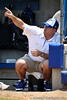 Florida head coach Tim Walton yells out directions during the Gator's 2-3 loss to the UCLA Bruins on Sunday, May 22, 2011 at Katie Seashole Pressly Stadium in Gainesville, Fla. / photo by Rob Foldy