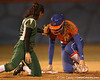 Florida sophomore Lauren Heil slides into second base during the Gators' 6-1 win against the Jacksonville Dolphins on Wednesday, February 17, 2010 at Katie Seashole Pressly Softball Stadium in Gainesville, Fla. / Gator Country photo by Tim Casey