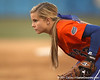 Florida junior Megan Bush gets ready during the Gators' 6-1 win against the Jacksonville Dolphins on Wednesday, February 17, 2010 at Katie Seashole Pressly Softball Stadium in Gainesville, Fla. / Gator Country photo by Tim Casey