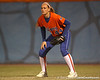 Florida freshman Brittany Schutte stands ready in right field during the Gators' 6-1 win against the Jacksonville Dolphins on Wednesday, February 17, 2010 at Katie Seashole Pressly Softball Stadium in Gainesville, Fla. / Gator Country photo by Tim Casey
