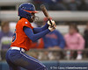 Florida sophomore Michelle Moultrie bats during the Gators' 6-1 win against the Jacksonville Dolphins on Wednesday, February 17, 2010 at Katie Seashole Pressly Softball Stadium in Gainesville, Fla. / Gator Country photo by Tim Casey