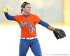 Florida freshman Brittany Walker throws the ball to the circle during the Gators' 6-1 win against the Jacksonville Dolphins on Wednesday, February 17, 2010 at Katie Seashole Pressly Softball Stadium in Gainesville, Fla. / Gator Country photo by Tim Casey
