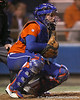 Florida freshman Brittany Schutte awaits a pitch during the Gators' 6-1 win against the Jacksonville Dolphins on Wednesday, February 17, 2010 at Katie Seashole Pressly Softball Stadium in Gainesville, Fla. / Gator Country photo by Tim Casey
