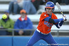 Florida junior Kelsey Bruder watches a pitch go by during the Gators' 6-1 win against the Jacksonville Dolphins on Wednesday, February 17, 2010 at Katie Seashole Pressly Softball Stadium in Gainesville, Fla. / Gator Country photo by Tim Casey