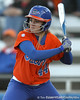 Florida freshman Brittany Schutte bats during the Gators' 6-1 win against the Jacksonville Dolphins on Wednesday, February 17, 2010 at Katie Seashole Pressly Softball Stadium in Gainesville, Fla. / Gator Country photo by Tim Casey