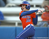 Florida senior left fielder Francesca Enea bats during the Gators' 6-1 win against the Jacksonville Dolphins on Wednesday, February 17, 2010 at Katie Seashole Pressly Softball Stadium in Gainesville, Fla. / Gator Country photo by Tim Casey
