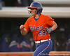 Florida junior catcher Tiffany DeFelice scores on a home run during the Gators' 6-1 win against the Jacksonville Dolphins on Wednesday, February 17, 2010 at Katie Seashole Pressly Softball Stadium in Gainesville, Fla. / Gator Country photo by Tim Casey