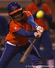 Florida junior second baseman Aja Paculba bats during the Gators' 6-1 win against the Jacksonville Dolphins on Wednesday, February 17, 2010 at Katie Seashole Pressly Softball Stadium in Gainesville, Fla. / Gator Country photo by Tim Casey