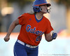 Florida junior catcher Tiffany DeFelice celebrates after hitting a two-run homer during the second inning of the Gators' 6-1 win against Jacksonville on Wednesday, February 17, 2010 at Katie Seashole Pressly Softball Stadium in Gainesville, Fla. / Gator Country photo by Tim Casey