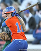 Florida junior shortstop Megan Bush warms up during the Gators' 6-1 win against the Jacksonville Dolphins on Wednesday, February 17, 2010 at Katie Seashole Pressly Softball Stadium in Gainesville, Fla. / Gator Country photo by Tim Casey