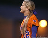 Florida junior Megan Bush cheers during the Gators' 6-1 win against the Jacksonville Dolphins on Wednesday, February 17, 2010 at Katie Seashole Pressly Softball Stadium in Gainesville, Fla. / Gator Country photo by Tim Casey