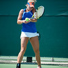 Florida junior Allie Will  during the Gators' 4-0 win against South Carolilna State on Friday May 11, 2012 at the Alfred A Ring Tennis Complex in Gainesville, Fla. / Gator Country photo by Saj Guevara